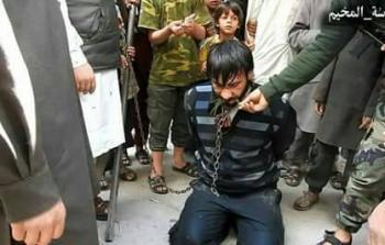 الأسير لدى داعش أبو فراس الشامي