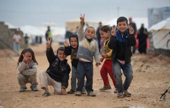 صورة أرشيفية لاحدى مخيمات اللجوء