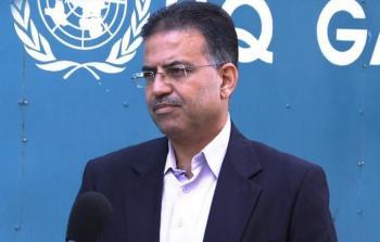 المستشار الاعلامي للاونروا في غزة عدنان أبو حسنة