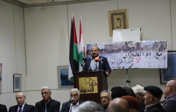 عقد لقاء في العاصمة اللبنانية بيروت تضامناً مع أم الحيران المحتلة
