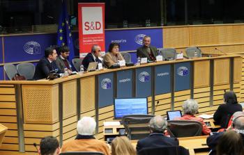 ندوة في البرلمان الأوروبيّ حول الاعتراف بالدولة الفلسطينيّة المستقلّة