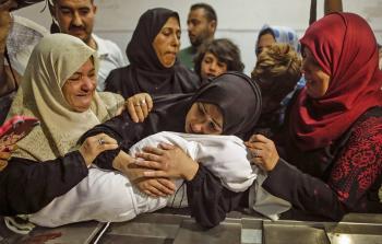 الرضيعة الشهيدة ليلى الغندور التي استشهدت إثر استنشاق الغاز الذي أطلقه الاحتلال