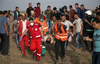 شهيد آخر مُتأثراً بجراحه.. ارتفاع عدد شهداء مسيرة العودة الكبرى إلى (122) شهيداً