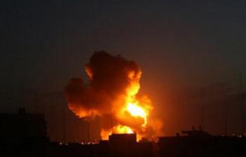 الاحتلال يستهدف مواقع للمقاومة جنوبي قطاع غزة