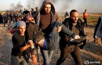من مسيرات العودة شرقي قطاع غزة خلال الأسابيع الماضية