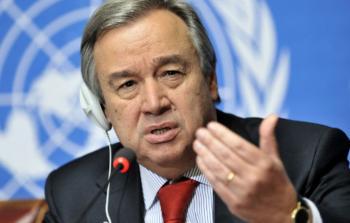 أمين عام الأمم المتحدة  يُناشد لمزيد من الدعم لـ