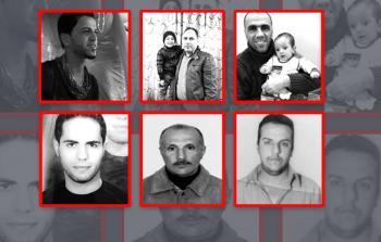 صور لبعض المعتقلين الفلسطينيين في العراق