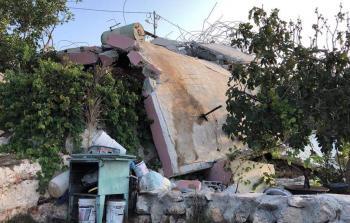 قوات الاحتلال تهدم منزل الشهيد دار يوسف