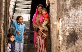لاجئين فلسطينيين يقطنون في جزيرة فاضل بمصر