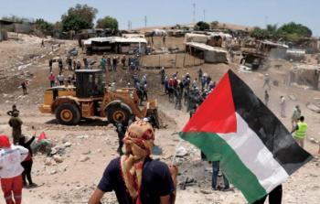 الاحتلال يُقرر تأجيل هدم وإخلاء الخان الأحمر في القدس المحتلة