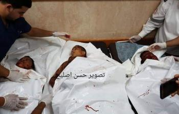 استشهاد (3) أطفال في قصف صهيوني ومسيرات في غزة للمُطالبة بالرّد