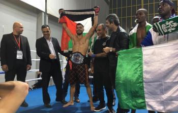 الفلسطيني علي عثمان يُحقق فوزاً جديداً في رياضة قوّة الرمي