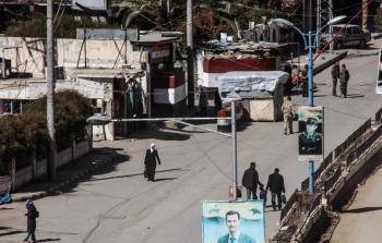 أحد مداخل جنوب دمشق ..