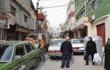 مخيم عين الحلوة للاجئين الفلسطينيين