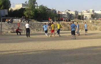 كرة القدم في مخيم جرمانا ..شغف بلا حاضنة