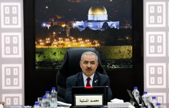 رئيس وزراء السلطة الفلسطينية محمد اشتية