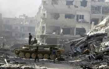 عام على دخول جيش النظام لمخيّم اليرموك ..لا اعمار ولا عودة