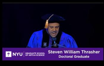 الطالب الأمريكي ستيفين وليام تراشير