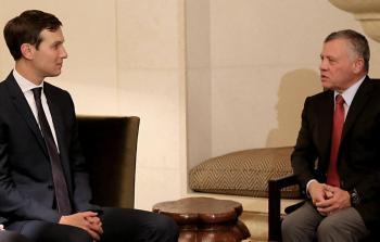 لقاء كوشنير والملك الأردني في عمّان بوقت سابق
