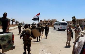 جيش النظام في درعا