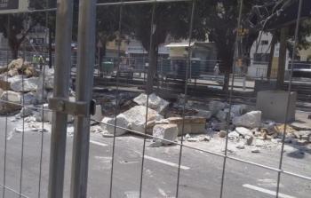 بلدية الاحتلال تغلق حي النزهة بيافا رغم اعتراض السكان الفلسطينيين