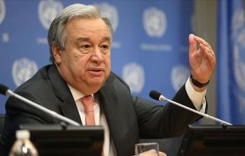 غوتيريش: لا يوجد بديل لحل الدولتين