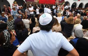 خلال زيارة الوفد الاسرائيلي لتونس