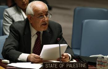 منصور يطالب باستنكار جريمة حفر الأنفاق في القدس المحتلة