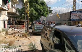إغلاق مدخل مخيم عين الحلوة من جهة درب السيم