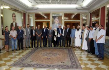 لقاء جمع الفصائل بالنائب بهية الحريري في مجدليون