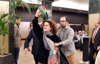 نُشطاء BDS يُفشلون ندوة تطبيعيّة في مدريد