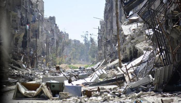 اشتباكات ليلية في مخيّم اليرموك يُرافقها طيران مكثف