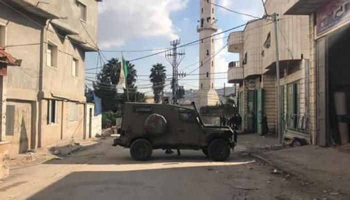 فلسطين المحتلة- من اقتحام قوات الاحتلال لمخيّم العرّوب للاجئين