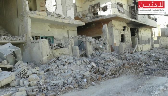 أوضاع انسانية صعبة في مخيم درعا و إصابة لاجئ فلسطيني بجنوب سورية