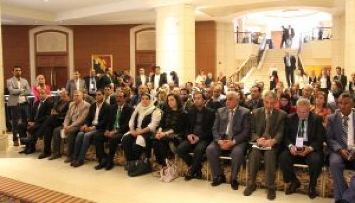 """اختتام أعمال المؤتمر الثاني """"اللاجئون في الشرق الأوسط والأمن الإنساني"""""""