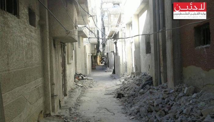 مخيم درعا.. تجدد القصف وصاروخ الفيل يسبب حالة قلق دائمة لسكانه