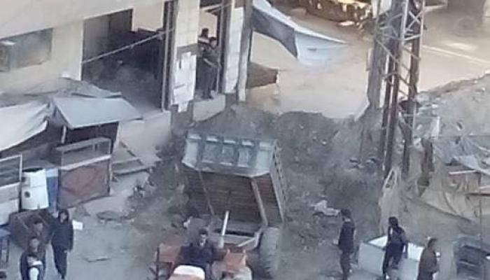 إغلاق حاجز العروبة بشكل نهائي وإحكام الحصار على مخيّم اليرموك