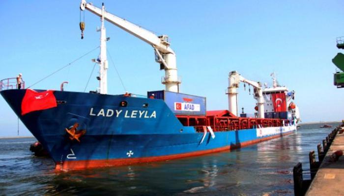 """سفينة """"ليدي ليلى"""""""