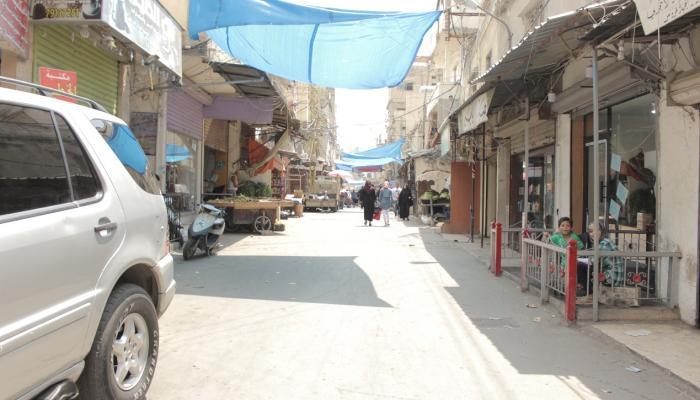 الشارع الفوقاني في مخيم عين الحلوة