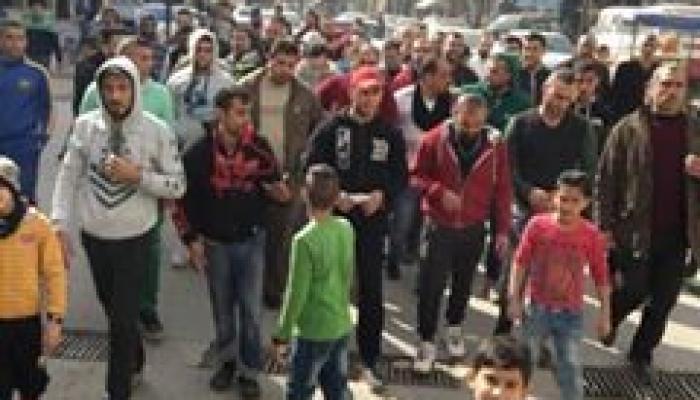 تظاهرة لأهالي نهر البارد للمطالبة ببناء مستشفى