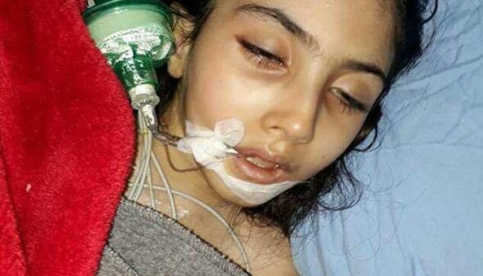 اعتصام ومناشدات في نهر البارد لأجل الطفلة منى التي تواجه الموت