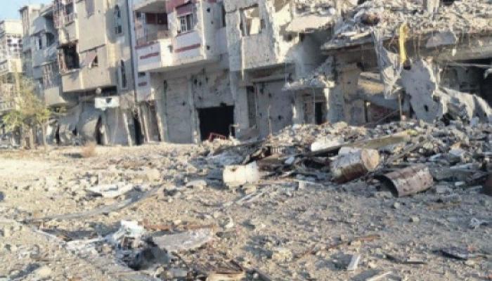 أبناء مخيم السبينة يطالبون قوات النظام بفتح الطريق إلى مخيمهم