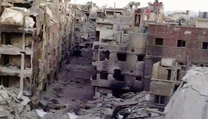 صورة أرشيفية لغرب اليرموك