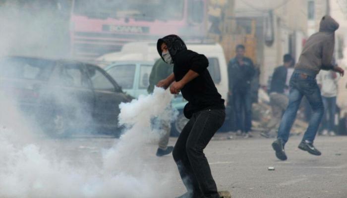 الصورة أرشيفية من المواجهات مع الاحتلال يوم الجمعة في الضفة المحتلة