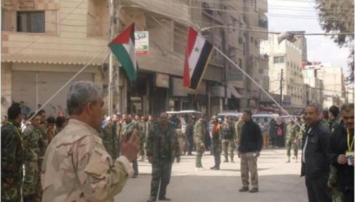 حملة اعتقالات تطال 15 لاجئا فلسطينيا من أبناء مخيم السيدة زينب