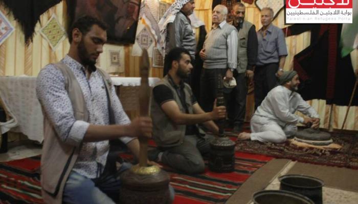 جانب من النشاط التراثي الفلسطيني