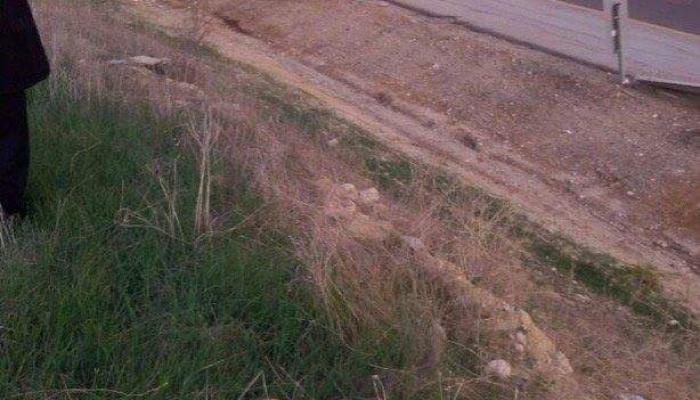 فلسطين المحتلة- من موقع إطلاق النار على الشهيد شرقي طولكرم