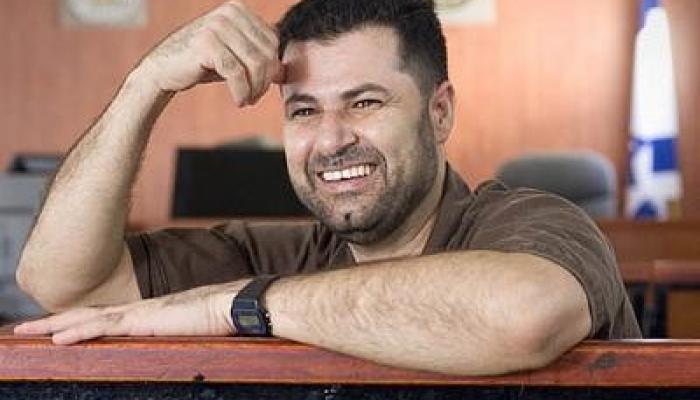 """اعتقال الناشط عبد الله أبو رحمة من قاعة محكمة """"عوفر"""" العسكرية"""