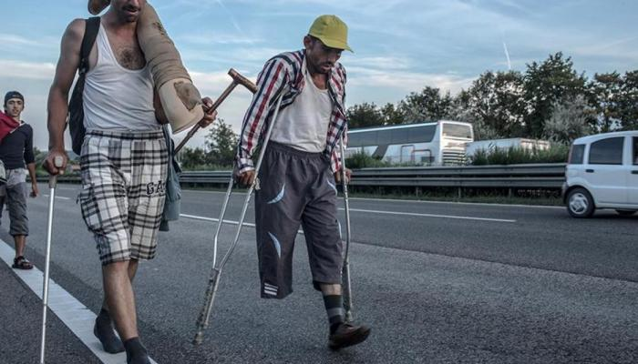 """""""هيومن رايتس ووتش"""".. اللاجئين ذوي الإعاقة في اليونان غير محميين ولا يتمتعون بالمساواة"""