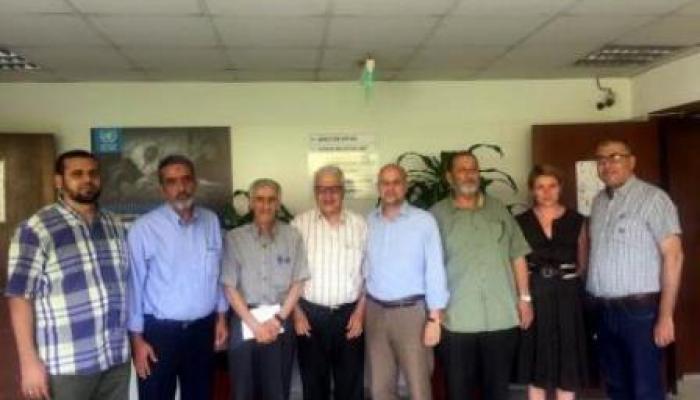 خلال اجتماع وفد من اللجان الشعبية مع نائب المدير العام لوكالة الأونروا في لبنان